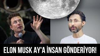 Elon Musk şimdi de AY'a insan gönderiyor! 🌙Hem