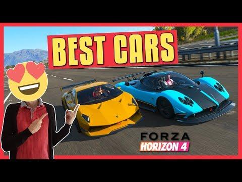 Forza Horizon 4   BEST CARS (Allrounder, Top Speed, Handling) - YouTube