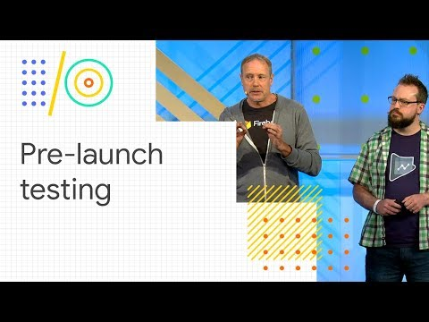 Autonomous and customized pre-launch testing in the Google Play Console (Google I/O '18)