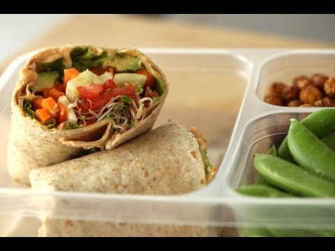 Healthy Hummus Wrap Recipe | Kin Community