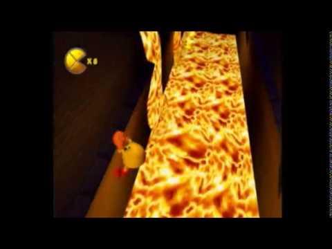 Pac-Man World 2 New Volcanic Panic Glitch (NOT Faster)