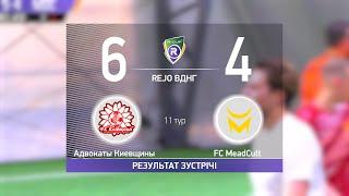 Обзор матча Адвокаты Киевщины 6 4 FC MeadCult Турнир по мини футболу в городе Киев