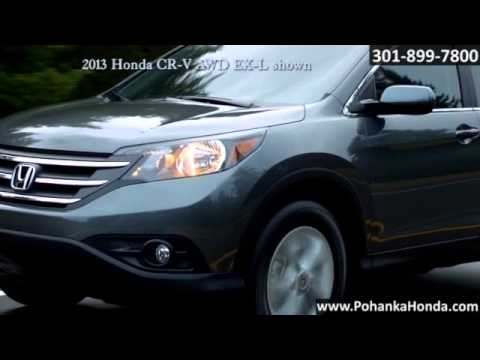 New 2013 Honda CR V Performance Washington DC MD Capitol Heights MD Pohanka  Honda Washington DC