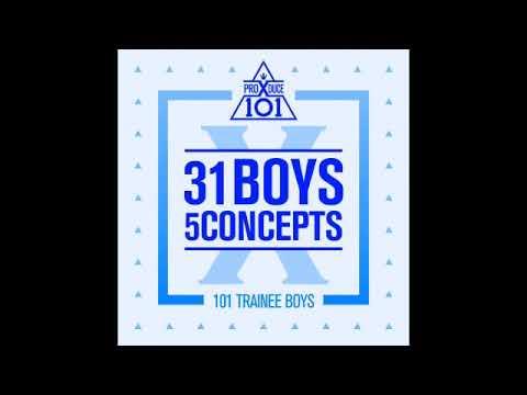 Free Download [full Album] 프로듀스 X 101 (produce X 101) - 31 Boys 5 Concepts Mp3 dan Mp4