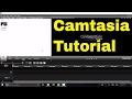 Basic Video Editing In Camtasia Studio (Tutorial)