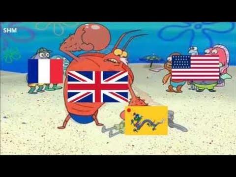 The Opium Wars in a nutshell HD