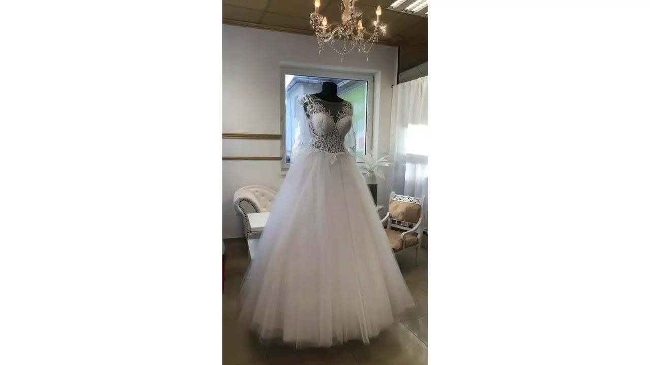 65b4b297d9c1 Svadobné šaty Extravagance - YouTube