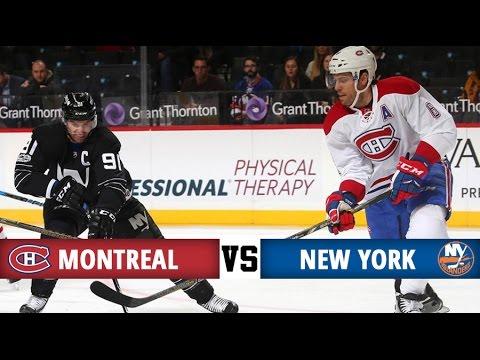 Montreal Canadiens vs New York Islanders   Season Game 50   Highlights (26/1/17)