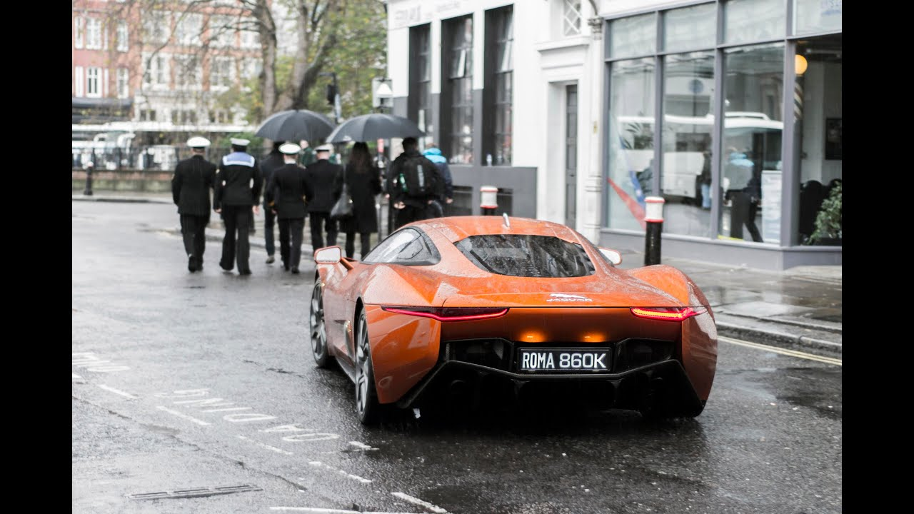 Aston Martin DB And Jaguar CX Driving In London James Bond - Aston martin db 10