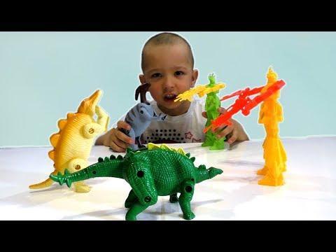 Игрушки для мальчиков Трансформеры Динозавры Могучие Рейнджеры МУЛЬТИК ПРО РОБОТОВ