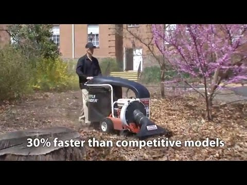 Little Wonder® Pro Vac SP Vacuums Leaves And Debris Faster