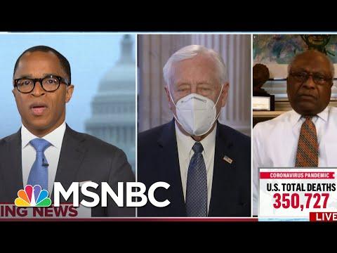 Reps. Clyburn, Hoyer Respond To 12 Senators Planning To Object to Biden's Certification   MSNBC