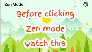 Zen mode in OnePlus