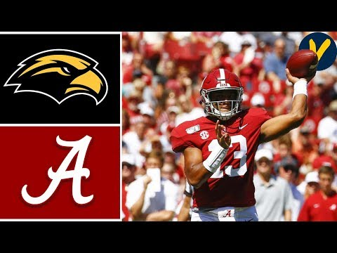 Bama Sports - #2 Alabama- 49 Southern Miss- 7 |Recap & Highlights
