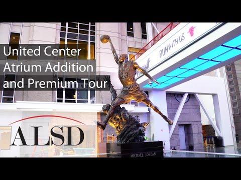 United Center Atrium Addition and Premium Tour