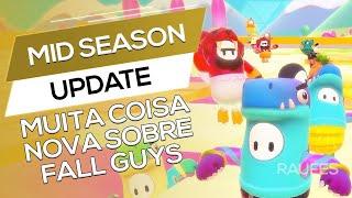 Mid Season Update - FALL GUYS (Novidades + Ant Cheat)