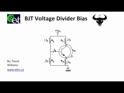 a lab experiment to design a voltage divider bias bjt transistor configuration Bipolar transistor biasing circuits application note 1293 introduction the bipolar junction transistor (bjt) is quite often used as a low noise amplifier in cellular, pcs, and pager applications due to its  the voltage divider network consisting of rb1 and rb2 provides a voltage divider.