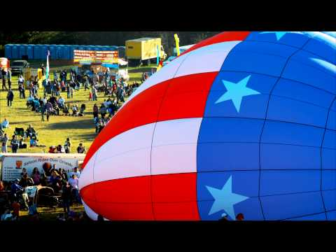 2013 Hot Air Balloon Festival Time Lapse Black Magic Cinema Camera