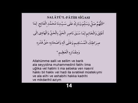 Salavat ı Fatih 100 adet