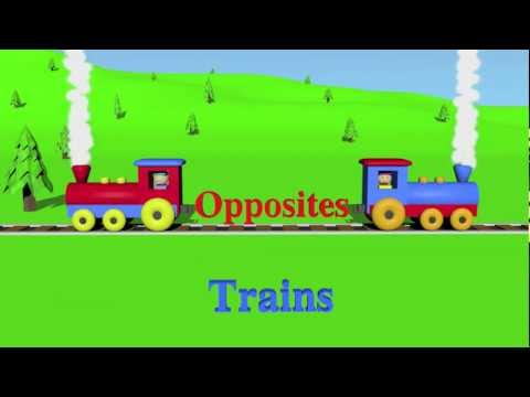 Thumbnail: Opposites: Trains - Learning for Kids (Episode 1)
