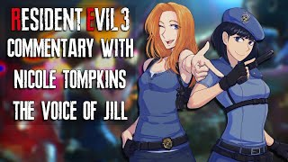 Resident Evil 3 Commentary With Nicole Tompkins The Voice of Jill Valentine