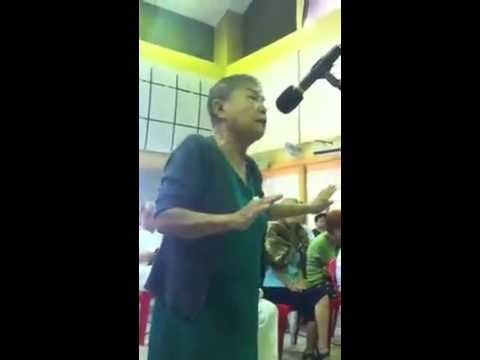 77 Years Old Lady Begs for Her CPF Money