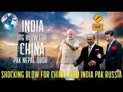 Shocking Big Blow for China from India Pakistan Nepal Sri Lanka