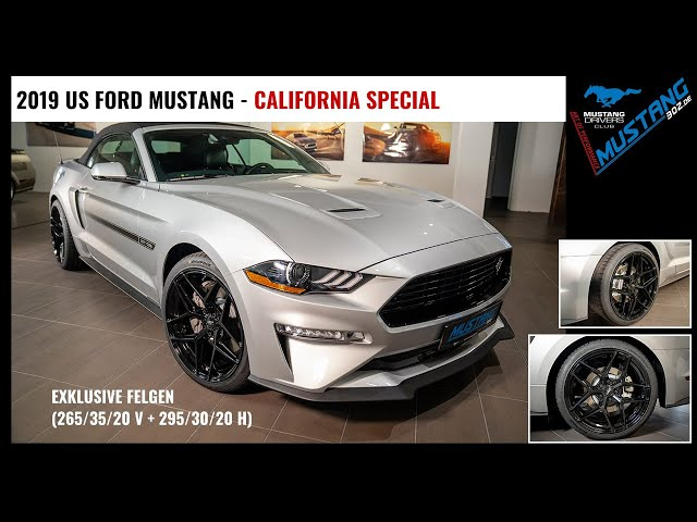 2019 Ford MUSTANG Californa Special