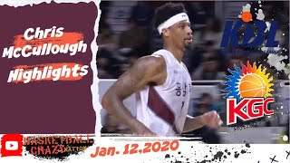 Gambar cover Chris McCullough Highlights | Anyang KGC vs KCC Egis | January 12, 2020