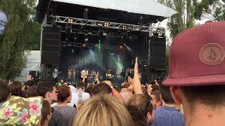 Jungle - Smoking Pixels & Platoon (live at Laneway Festival Feb 1st 2015)