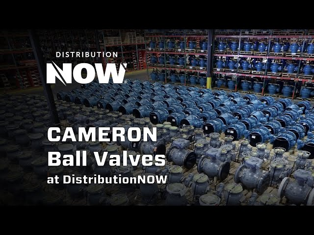 CAMERON T 30 Series and WKM Ball Valves from DistributionNOW