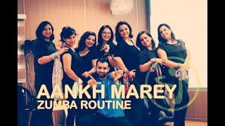 Zumba® Routine on Aankh Marey  | Choreographed by Amit | Zumba Latest Videos