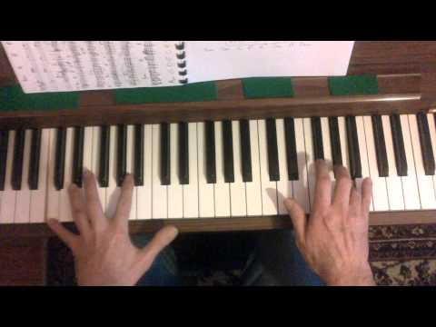 My Way - Comme d'habitude - Piano Tutorial Chords  (Cover)