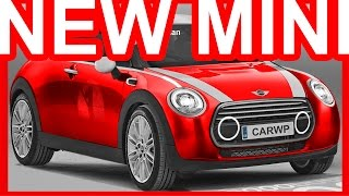 PHOTOSHOP New 2018 Mini Cooper @ Mini Vision Next 100 Concept #Mini