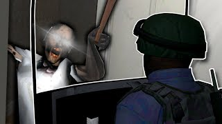 SWAT Raids Granny's House! - Garry's Mod Gameplay - Gmod Police Roleplay