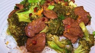 Orange Beef With Broccoli Recipe