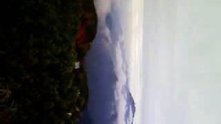 塩見小屋 近くに雲襲う。
