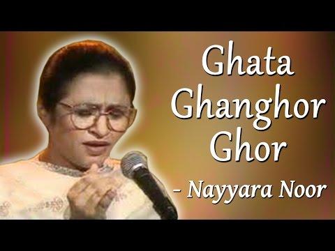 Hits Of Nayyara Noor & Sherry   Yaadon Ke Saye   Ghata Ghanghor Ghor