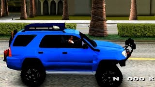 Toyota 4runner Off Road - GTA MOD
