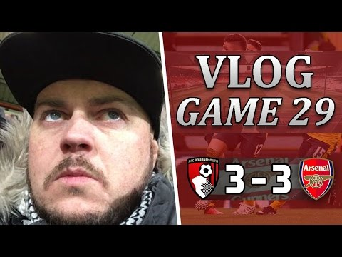 Bournemouth 3 v 3 Arsenal | Pathetic Bullsh*t Performance | Matchday Vlog | Game 29