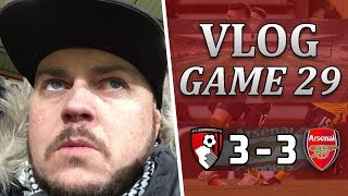 Bournemouth 3 v 3 Arsenal | Pathetic Bullsh*t Performance | Matchday Vlog | Game 29