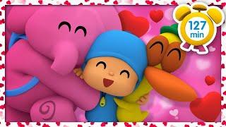💘pocoyÓ En EspaÑol - Mucho Amor En San Valentín 127 Min |caricaturas Y Dibujos Animados Para Niños