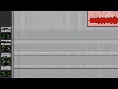 Pro Tools Tech Tip — Frequency-Based Panning