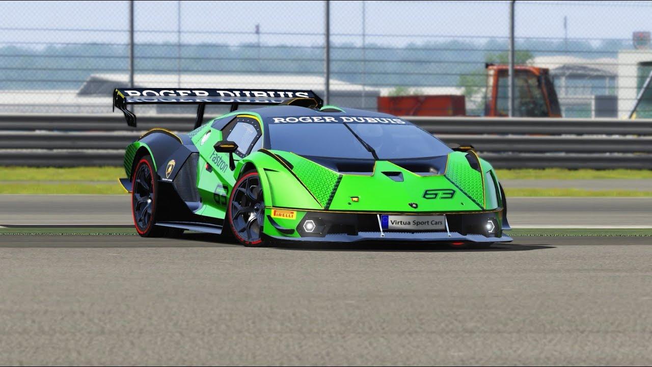 Lamborghini Essenza SCV12 at Top Gear