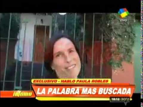 Paula Robles separación Tinelli Valdes