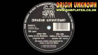 Long Dark Tunnel - Origin Unknown - 31 Seconds - Valley of shadows - Andy C - HQ