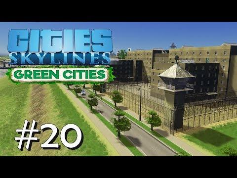 CITIES SKYLINES: Green Cities #20: After Dark & Gewitter [Let's Play][Gameplay][German][Deutsch]