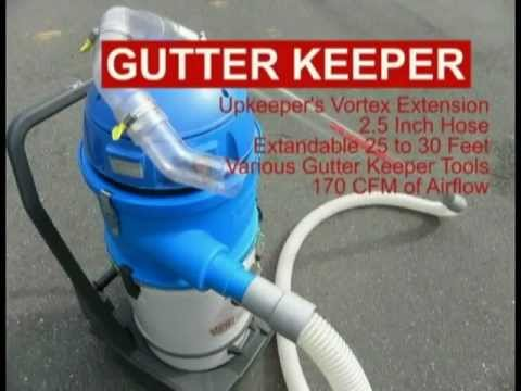R2D2 Gutter Keeper - Gutter Cleaning Vacuum - YouTube
