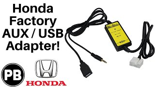 2002 - 2011 Honda Factory Aux / USB Adapter Unboxing