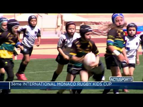 L'ASM sacrée meilleur club du 3ème International Monaco Rugby Kids Cup